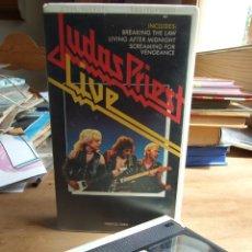 Cine: JUDAS PRIEST LIVE - CBS 6519-50 AÑO 1984. Lote 200250696