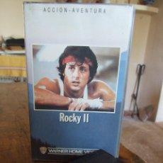 Cine: ROCKY II 2 - SYLVESTER STALLONE , TALIA SHIRE , CARL WEATHERS - WARNER 1988. Lote 219181072