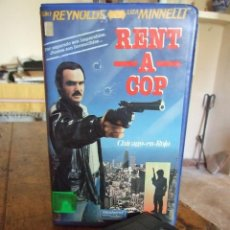 Cine: RENT A COP CHICAGO EN ROJO - JERRY LONDON - BURT REYNOLDS , LIZA MINNELLI - WEEKEND 1987. Lote 200554865