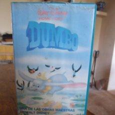 Cine: DUMBO - COLECCION CLASICOS DE ORO WALT DISNEY - FILMAYER 1986. Lote 200560641