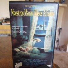 Cine: NUESTROS MARAVILLOSOS ALIADOS - MATTHEW ROBBINS - HUME CRONYN , JESSICA TANDY - CIC 1989. Lote 200561778