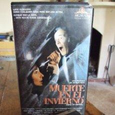 Cine: MUERTE EN EL INVIERNO - ARTHUR PENN - MARY STEENBURGEN , RODDY MCDOWALL - VIDEOMAN 1988. Lote 200565456