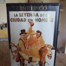 Cine: LA LEYENDA DE LA CIUDAD SIN NOMBRE - JOSHUA LOGAN - LEE MARVIN , CLINT EASTWOOD - CIC 1995. Lote 200566095