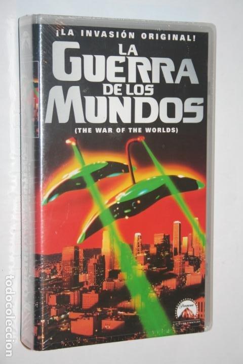 LA GUERRA DE LOS MUNDOS (GENE BARRY, ANN ROBINSON)** VHS CIENCIA FICCION THRILLER (PRECINTADO) (Cine - Películas - VHS)