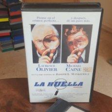 Cine: LA HUELLA - JOSEPH L MANKIEWICZ - LAURENCE OLIVIER , MICHAEL CAINE - MANGA . Lote 201934141