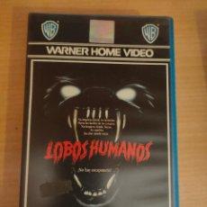 Cine: LOBOS HUMANOS (1981) VHS - TERROR - WHITLEY STRIEBER. Lote 30514969