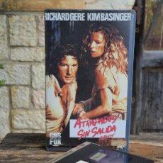 Cine: ATRAPADOS SIN SALIDA NO MERCY - RICHARD PEARCE - RICHARD GERE , KIM BASINGER - FOX 1987. Lote 202017848