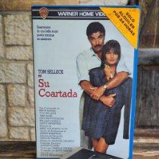 Cine: SU COARTADA - BRUCE BERESFORD - TOM SELLECK , PAULINA PORIZKOVA - WARNER 1989 PERFECTA. Lote 202018188