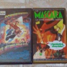 Cine: VENDO 2 PELÍCULAS VHS (EL ÚLTIMO GRAN HEROE Y LA MASCARA, LA OTRA CARA DEL HEROE), VER MAS FOTOS.. Lote 263093810