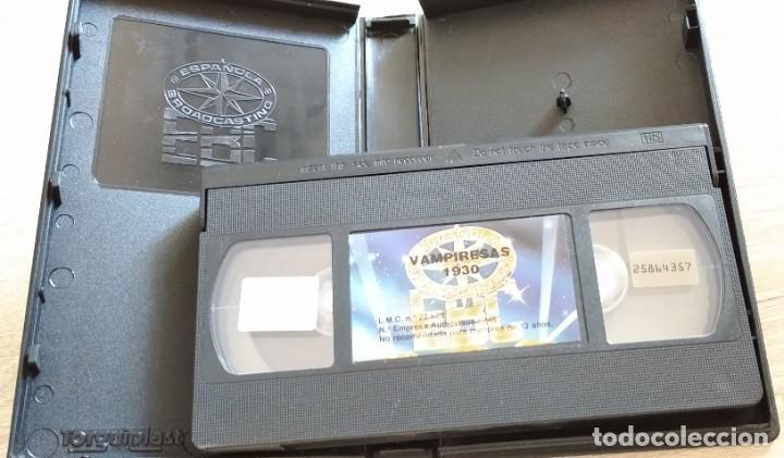 Cine: VHS - VAMPIRESAS 1930 - Lina Morgan, Mikaela, Antonio Ozores, Jesús Franco - JESS FRANK - Foto 4 - 202632552