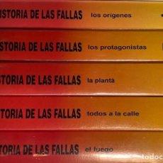 Cine: COLECCION COMPLETA DE 5 VHS HISTORIA DE LAS FALLAS ( 3 PRECINTADOS ) AQUITIENESLOQUEBUSCA ALMERIA. Lote 202691400