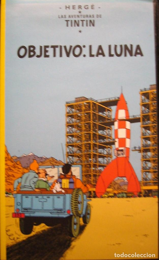 TINTIN - OBJETIVO LA LUNA Y ATERRIZAJE EN LA LUNA (Cine - Películas - VHS)