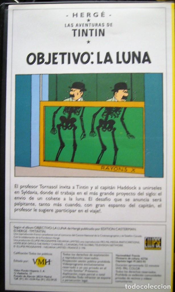 Cine: TINTIN - OBJETIVO LA LUNA Y ATERRIZAJE EN LA LUNA - Foto 2 - 202830810