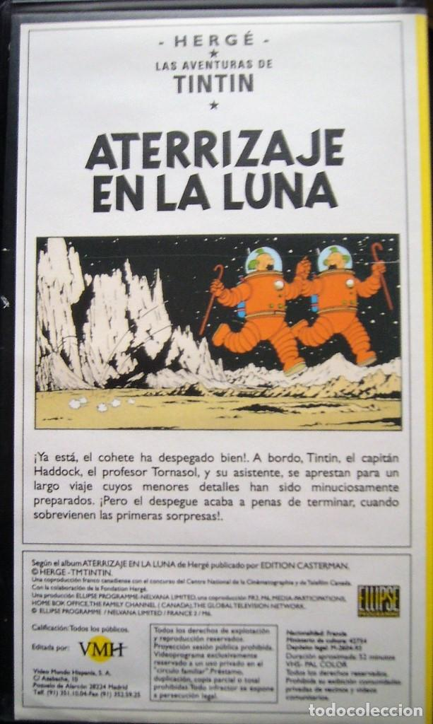 Cine: TINTIN - OBJETIVO LA LUNA Y ATERRIZAJE EN LA LUNA - Foto 3 - 202830810