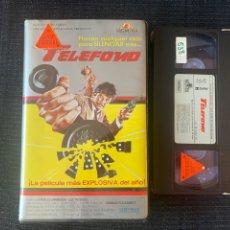 Cine: TELÉFONO PELICULA VHS MGM PRIMERA EDICIÓN CAJA GORDA. Lote 202887455