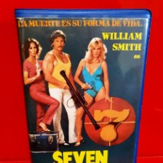 Cine: SEVEN (1983) - WILLIAM SMITH, BARBARA LEIGH - VIDEODISCO. Lote 203132115