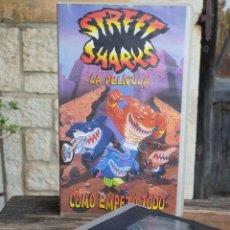 Cine: STREET SHARKS LA PELICULA , COMO EMPEZO TODO - FILMAYER FOX 1996. Lote 203148445