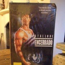 Cine: ENCERRADO LOCK UP - JOHN FLYNN - SYLVESTER STALLONE , DONALD SUTHERLAND - RCA 1990. Lote 245503140