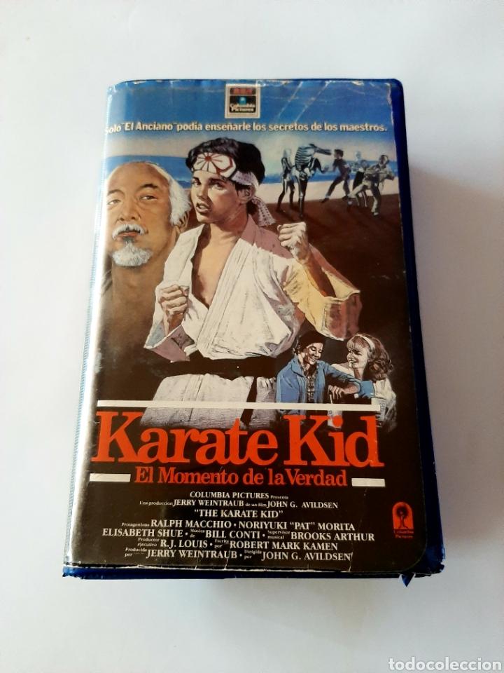 KARATE KID VHS - PRIMERA EDICIÓN EN CAJA GRANDE (Cine - Películas - VHS)