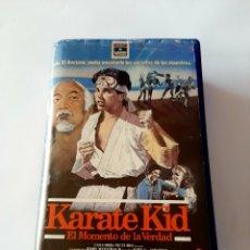 Cine: KARATE KID VHS - PRIMERA EDICIÓN EN CAJA GRANDE. Lote 204375563