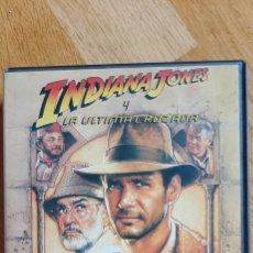 Cine: CINTA VHS INDIANA JONES Y LA ÚLTIMA CRUZADA 1990. Lote 204423253