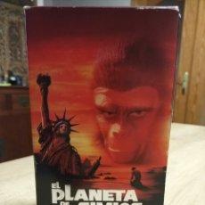 Cine: EL PLANETA DE LOS SIMIOS VHS COLECCIÓN. Lote 204514208