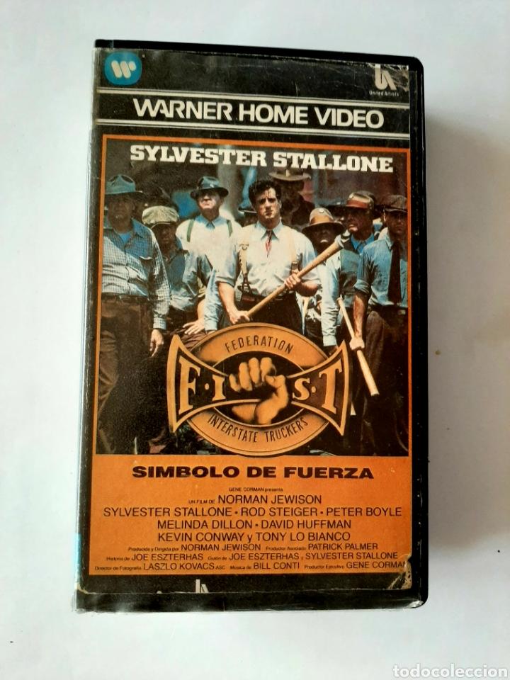 SÍMBOLO DE FUERZA VHS - SYLVESTER STALLONE - 1ª EDICIÓN (Cine - Películas - VHS)