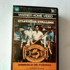 Cine: SÍMBOLO DE FUERZA VHS - SYLVESTER STALLONE - 1ª EDICIÓN. Lote 180282733