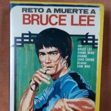 Cine: RETO A MUERTE A BRUCE LEE. VHS. Lote 204809218