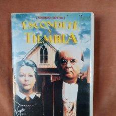 Cine: ESCÓNDETE Y TIEMBLA (AMERICAN GOTHIC)1989. Lote 204841676