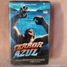 Cine: TERROR AZUL. VHS. TERROR. Lote 204843442