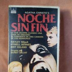 Cine: NOCHE SIN FIN - VHS. Lote 204843816