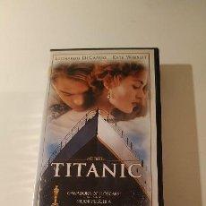 Cine: PELICULA TITANIC VHS. Lote 205322542
