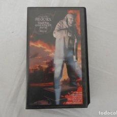 Cine: VHS - SANTIAGO SEGURA - JISTORY CORTO GREATEST HITS - EDICIÓN NUMERADA - HUMOR. Lote 205378791