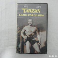 Cine: VHS - TARZAN LUCHA POR SU VIDA - PRECINTADA. Lote 205463936