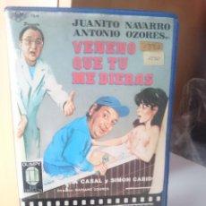 Cine: VHS VENENO QUE TU ME DIERAS. Lote 205850378