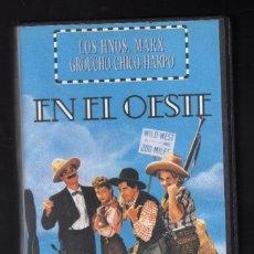 Cine: LOS HERMANOS MARX EN EL OESTE · DIR: EDWARD BUZZELL (INT: GROUCHO / CHICO / HARPO / JOHN CARROLL. Lote 206130382