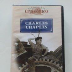 Cine: TIEMPOS MODERNOS: CHARLES CHAPLIN+PAULETTE GODDARD - CLASICOS DEL CINE COMICO. Lote 206490423