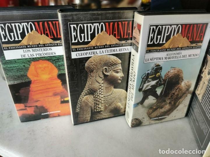 Cine: EGIPTO MANIA, 7 VHS, MAS BUSCANDO LA ETERNIDAD Nº 1 Y ANTIGUO EGIPTO Nº1 - Foto 2 - 206554430