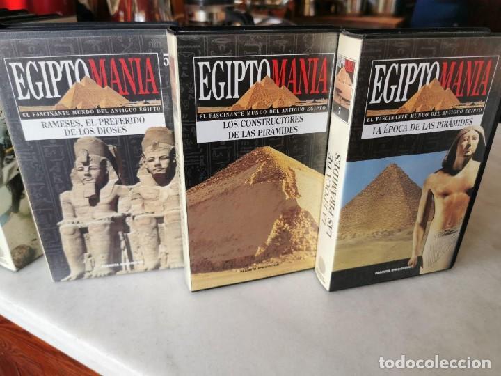 Cine: EGIPTO MANIA, 7 VHS, MAS BUSCANDO LA ETERNIDAD Nº 1 Y ANTIGUO EGIPTO Nº1 - Foto 3 - 206554430