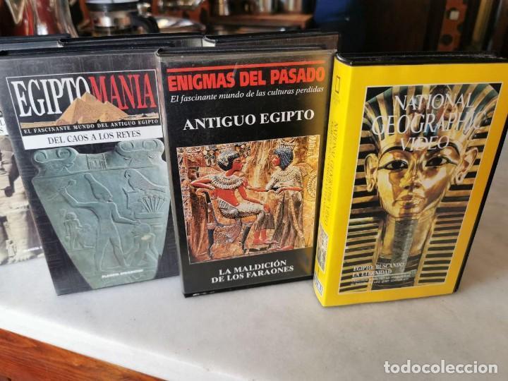 Cine: EGIPTO MANIA, 7 VHS, MAS BUSCANDO LA ETERNIDAD Nº 1 Y ANTIGUO EGIPTO Nº1 - Foto 4 - 206554430