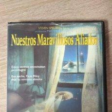 Cinema: VHS - NUESTROS MARAVILLOSOS ALIADOS - MATTHEW ROBBINS - CIENCIA FICCIÓN, COMEDIA, EXTRATERRESTRES. Lote 206591815