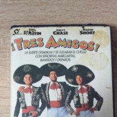 Cinema: VHS - TRES AMIGOS - STEVE MARTIN, CHEVY CHASE, JOHN LANDIS - 1º EDICION. Lote 206593252