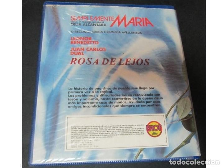 Cine: VHS Simplemente Maria - Foto 2 - 206787760