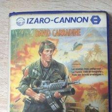 Cine: VHS - MAS ALLA DE LAS LINEAS ENEMIGAS - DAVID CARRADINE - ACCION, BELICA - CANNON. Lote 206887862