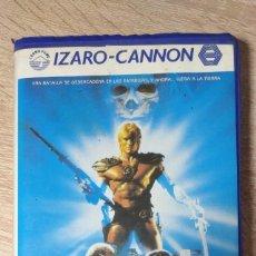 Cine: VHS - MASTERS DEL UNIVERSO - DOLPH LUNDGREN, COURTENEY COX - ESPADA Y BRUJERÍA - CANNON. Lote 206888161