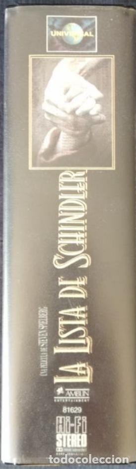 Cine: Doble vhs La lista de Schindler. - Foto 2 - 206939595