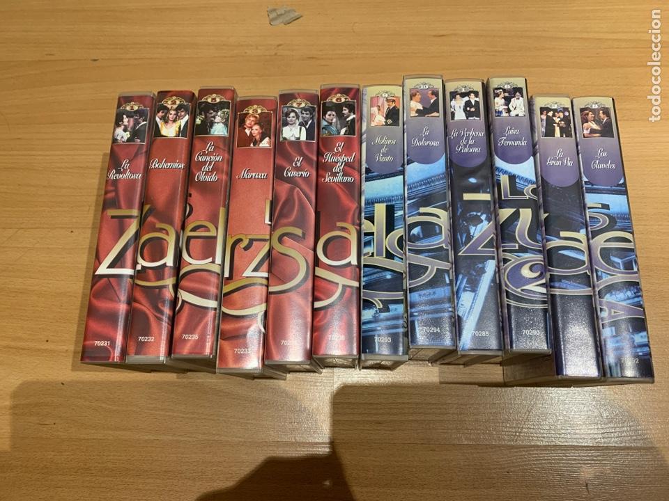 Cine: Lote de películas VHS zarzuelas - Foto 2 - 206945813