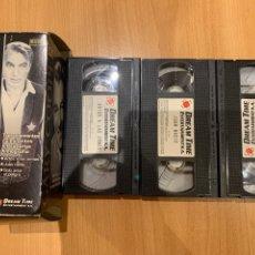 Cine: GARY COOPER SOLO ANTE EL PELIGRO JUAN NADIE ADIÓS A LAS ARMAS PELÍCULAS VHS. Lote 206946566