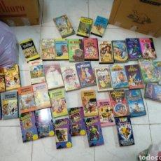 Cine: LOTE VHS TINTÍN,DISNEY,MORTADELO Y FILEMÓN, PESADILLAS. Lote 206950931